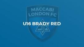U16 BRADY RED
