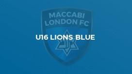 U16 LIONS BLUE