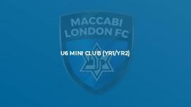 U6 Mini Club (Yr1/Yr2)