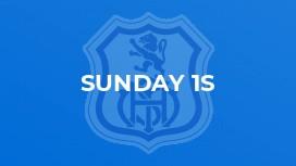 Sunday 1s