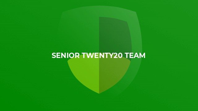 Senior Twenty20 Team