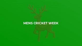 Mens Cricket Week