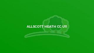 Allscott Heath CC U11