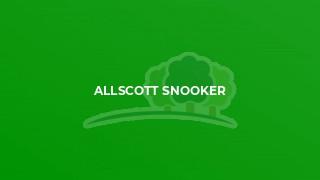 Allscott Snooker