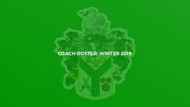 Coach Roster: Winter 2019