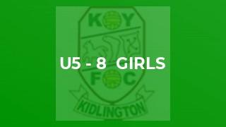 U5 - 8  Girls