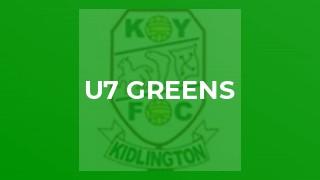 U7 Greens