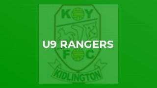 U9 Rangers