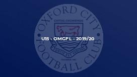U15 - OMGFL - 2019/20