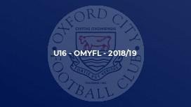 U16 - OMYFL - 2018/19