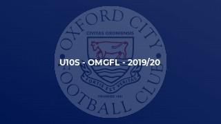 U10s - OMGFL - 2019/20