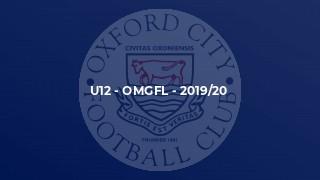 U12 - OMGFL - 2019/20