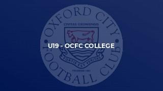 U19 - OCFC College
