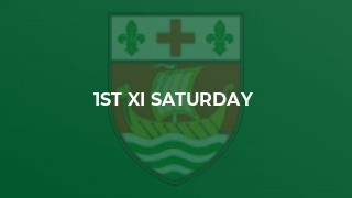 1st XI Saturday