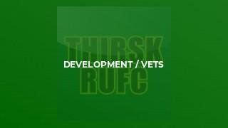 Development / Vets