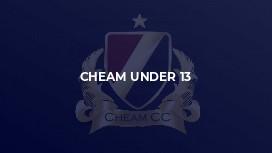 Cheam Under 13
