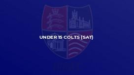 Under 15 Colts (Sat)