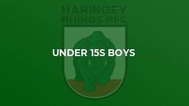 Under 15s Boys