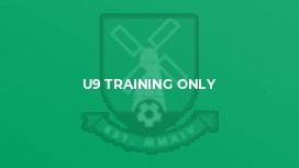 U9 Training Only