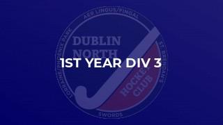1st Year Div 3