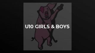 u10 Girls & Boys