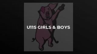 u11s Girls & Boys