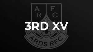 Ards 3rds get back to winning ways!