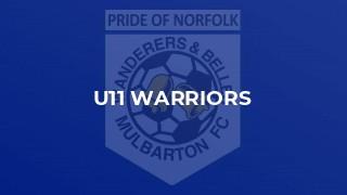 U11 Warriors