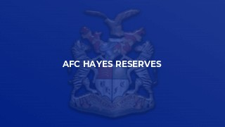 AFC Hayes Reserves
