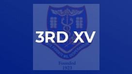 3rd XV
