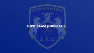 First Team (Open Age)