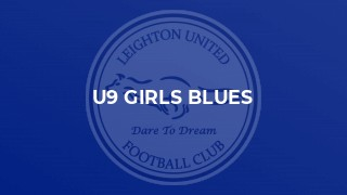 U9 Girls Blues