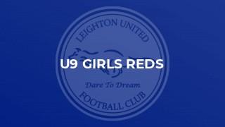 U9 Girls Reds