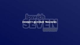Hockey @ Home Training