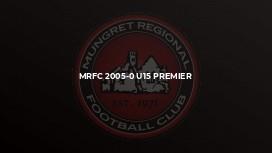MRFC 2005-0 U15 PREMIER