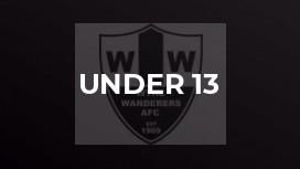 Under 13