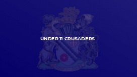 Under 11 Crusaders