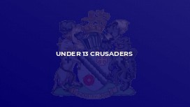Under 13 Crusaders