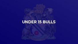Under 15 Bulls