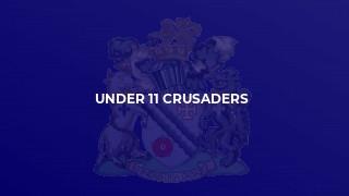 Under 11 Crusaders