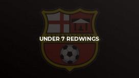 Under 7 Redwings