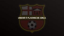 Under 9 Flamingos Girls