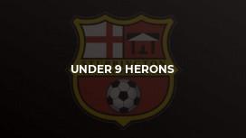 Under 9 Herons