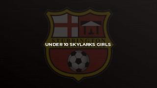 Under 10 Skylarks Girls