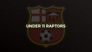Under 11 Raptors