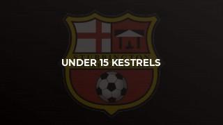 Under 15 Kestrels