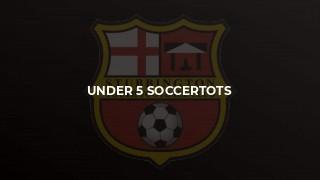 Under 5 Soccertots