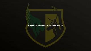 Ladies Summer Sonning B