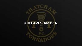 U10 Girls Amber