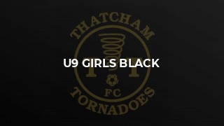 U9 Girls Black
